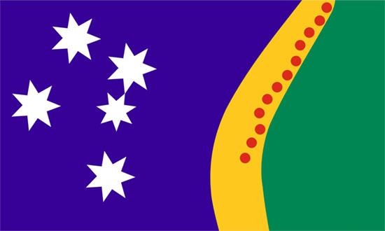 flagoz new australian flag